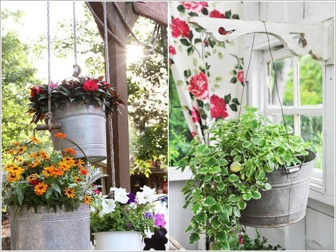 Идеи кашпо для цветов