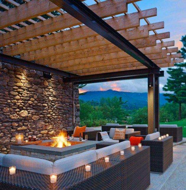 15 n padov na kr sne terasy v r znych t loch. Black Bedroom Furniture Sets. Home Design Ideas