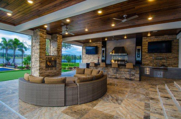 Florida Home Decor Decorating Ideas Best Lanai Gallery: 15 Nápadov Na Krásne Terasy V Rôznych