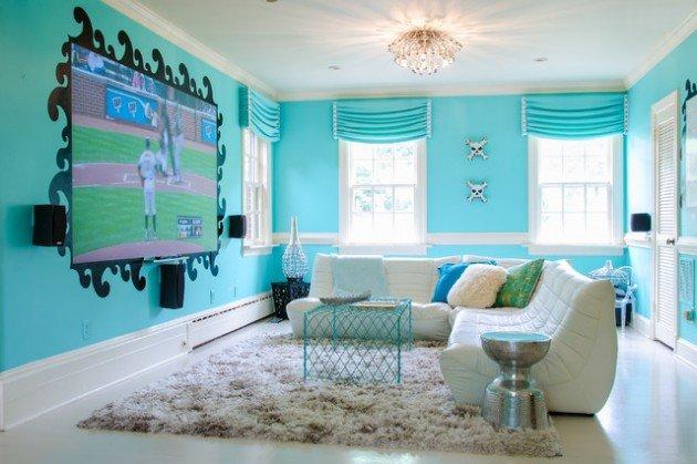16 dizajnov ch n padov na detsk izby. Black Bedroom Furniture Sets. Home Design Ideas