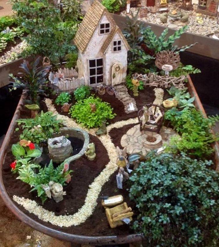 25 Best Ideas About Garden Design On Pinterest: 12 Inšpirácií Pre Mini Rozprávkové Záhradky