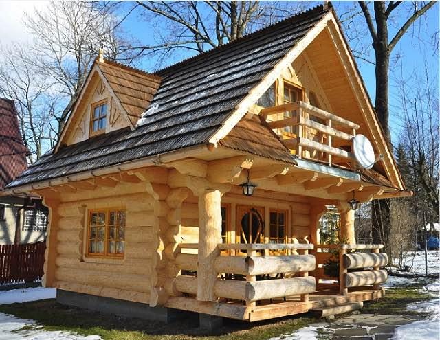 N dhern mal chatka for Stili di log cabin