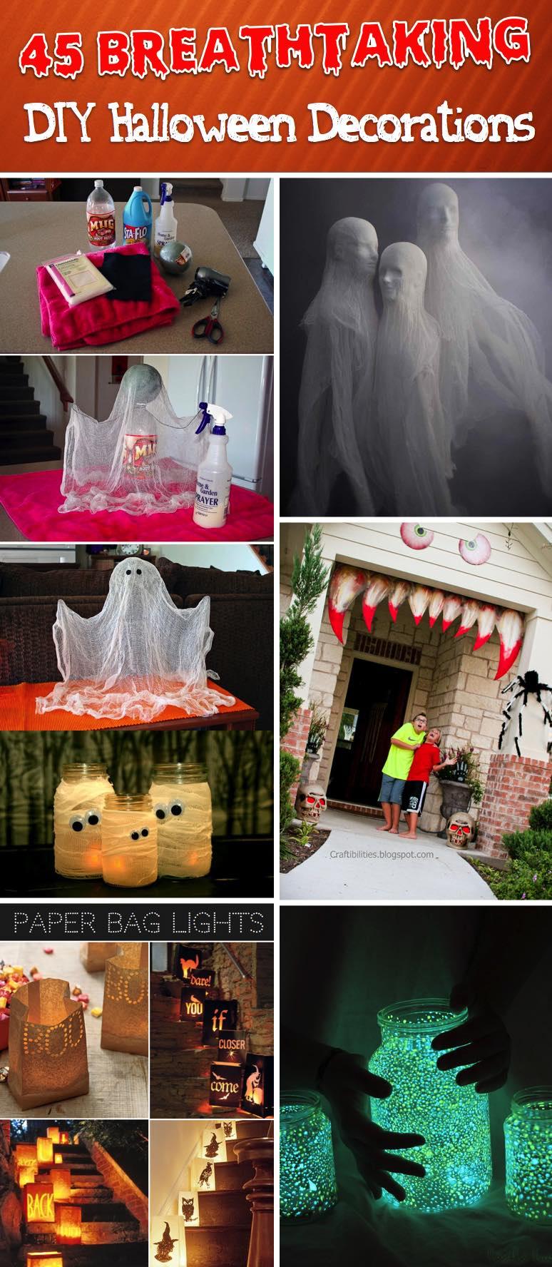 Napadynavody Sk 45 Najuzasnejsich Napadov Na Halloweenske Dekoracie Ktore Si Viete Vyrobit ľahko Aj Vy