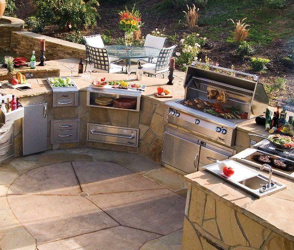 Design Your Space Outdoor Kitchen Ideas: Nápady Na Vonkajšie Kuchyne