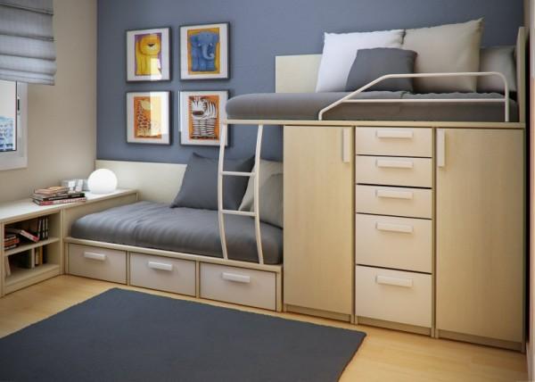 33 priestorovo sporn ch n padov ako - Ideas for small bedrooms for kids ...